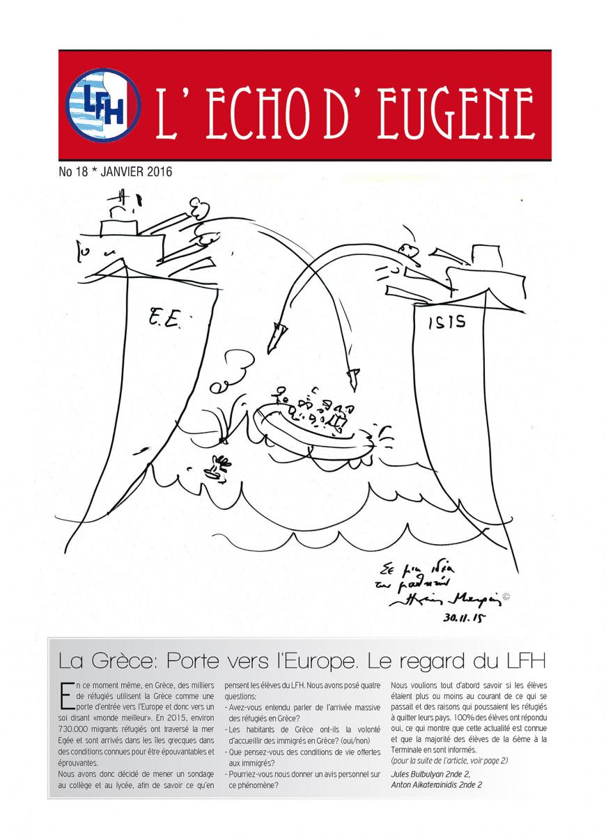 Echo d'Eugène numéro 18 (Janvier 2016)-0