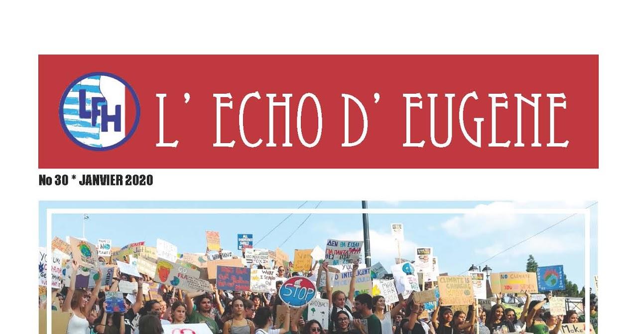 L'Echo d'Eugène : οι εντυπώσεις ενός νέου αναγνώστη