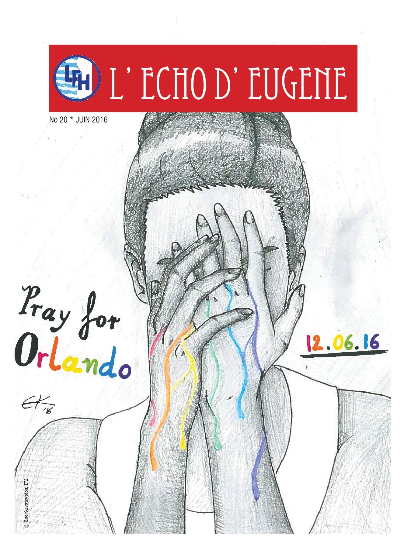 Echo d'Eugène numéro 20 (Juin 2016)-0