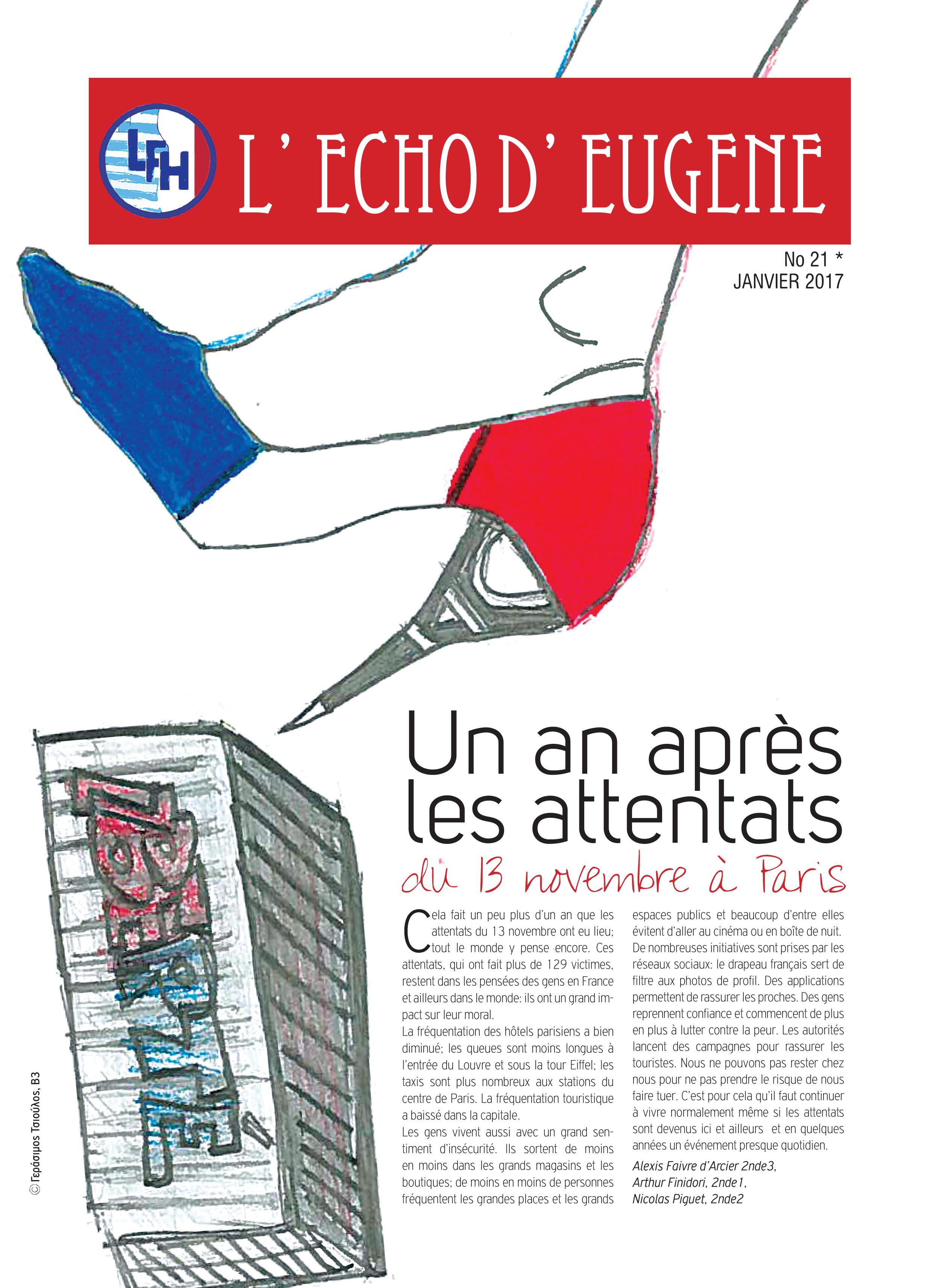 Echo d'Eugène numéro 21 (Janvier 2017)-0