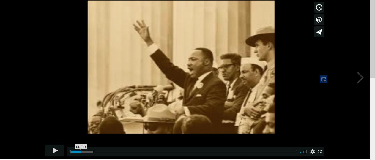 """Les élèves de 2nde réalisent le documentaire """"In Martin Luther King We Trust"""""""