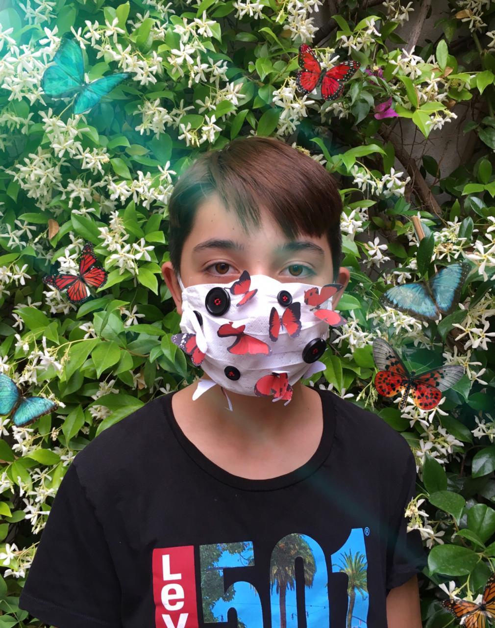 Projet de fabrication de masques en Arts plastiques : « Un masque qui te révèle autant qu'il te protège »-3