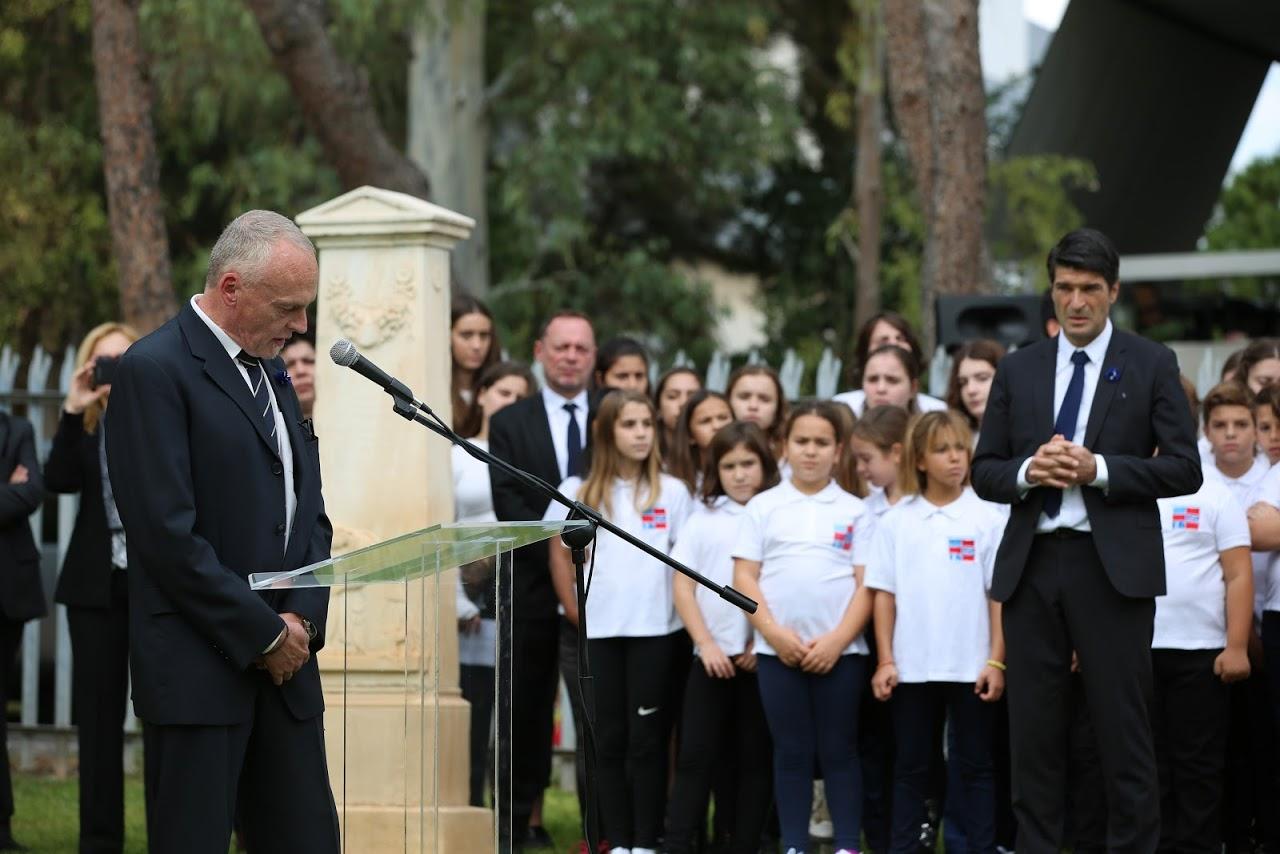 Nos élèves rendent hommage à l'action des femmes sur le front d'Orient lors de la commémoration du 11 novembre-1