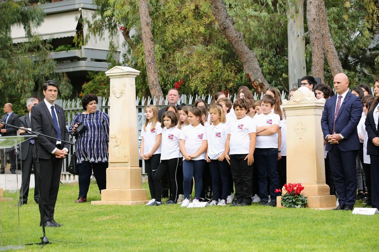 Nos élèves rendent hommage à l'action des femmes sur le front d'Orient lors de la commémoration du 11 novembre-6