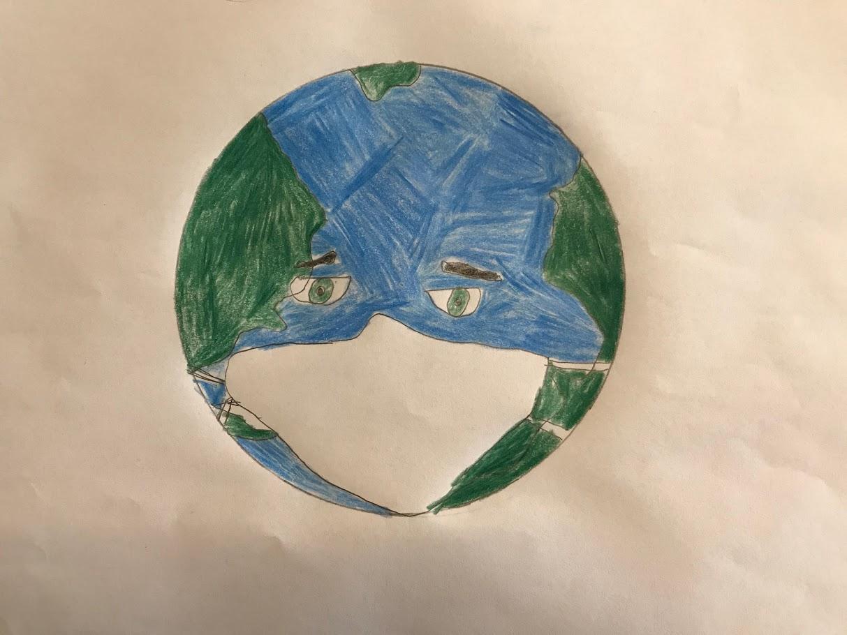Οι μαθητές της Γ' Γυμνασίου εκφράζονται μέσω της τέχνης κατά τη περίοδο του εγκλεισμού-14