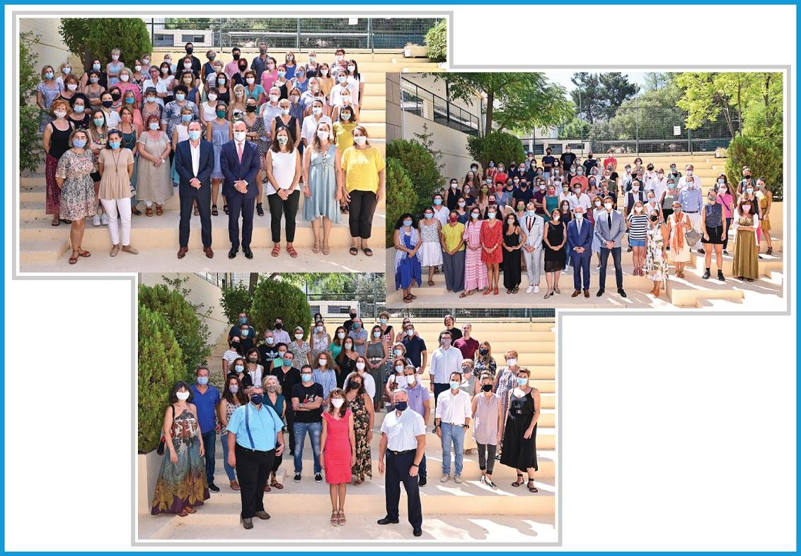 Les personnels du LFHED souhaitent une bonne rentrée à tous leurs élèves !