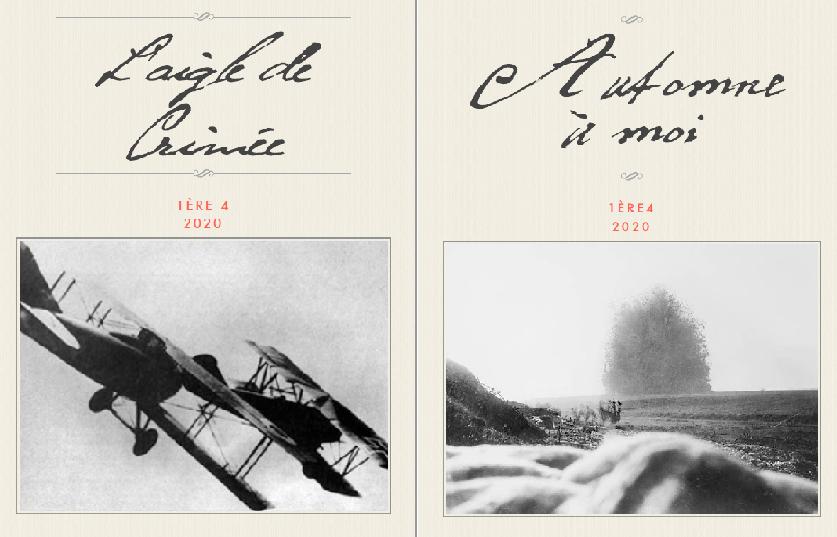 Projet interdisciplinaire : Correspondance de confinement – Fiction et 1ère Guerre Mondiale