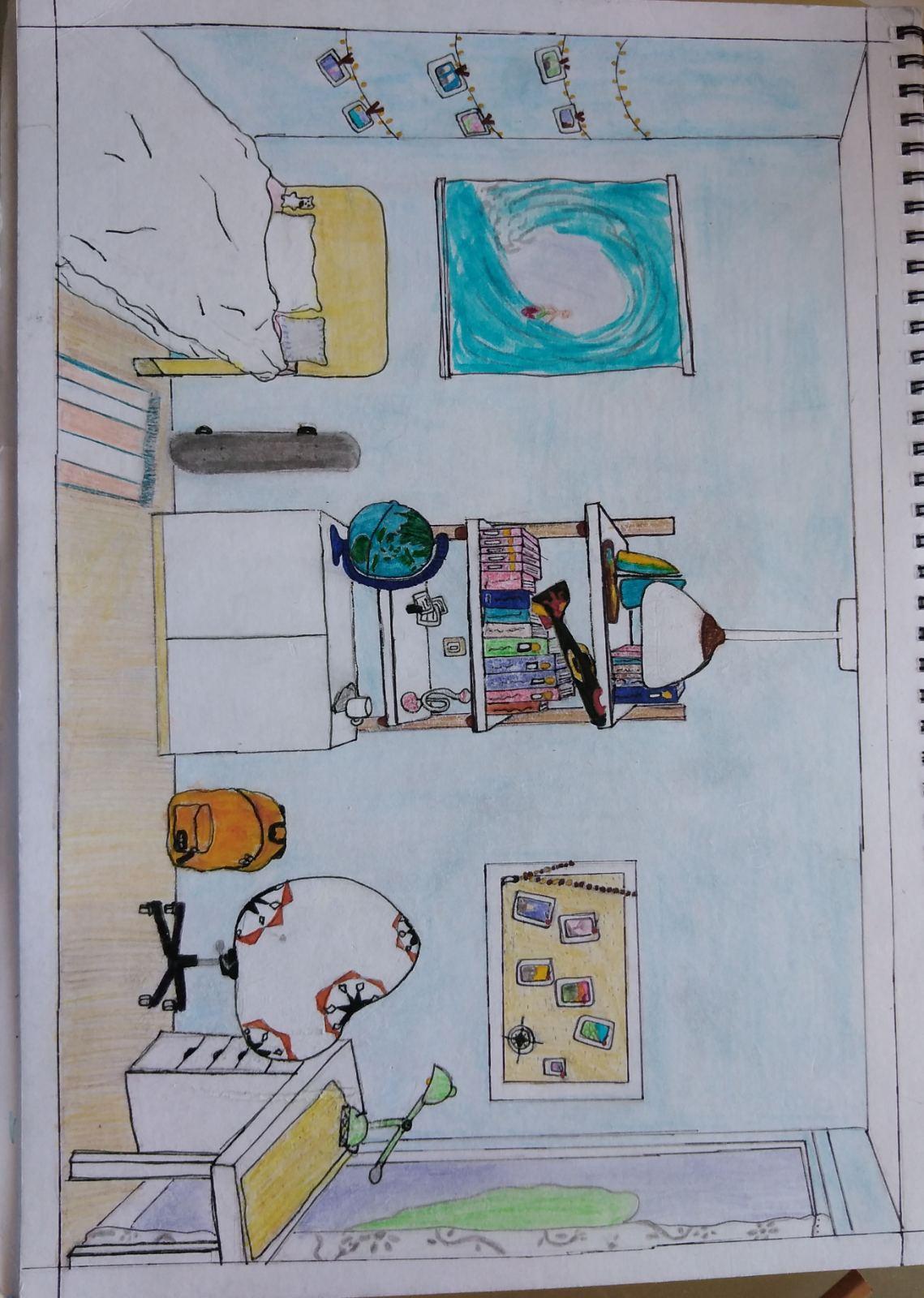 Οι μαθητές της Γ' Γυμνασίου εκφράζονται μέσω της τέχνης κατά τη περίοδο του εγκλεισμού-31
