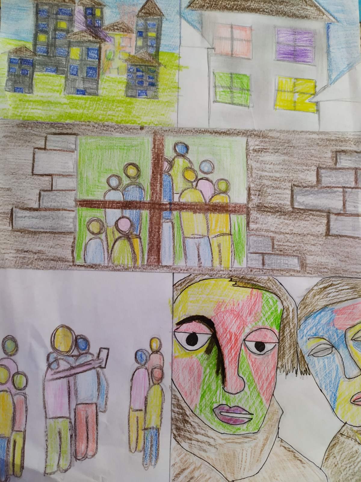 Οι μαθητές της Γ' Γυμνασίου εκφράζονται μέσω της τέχνης κατά τη περίοδο του εγκλεισμού-16