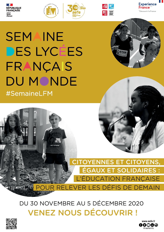 Pour fêter la Semaine des lycées français du monde, la Commission Ecologie et Recyclage du LFHED dévoile son logo !-2