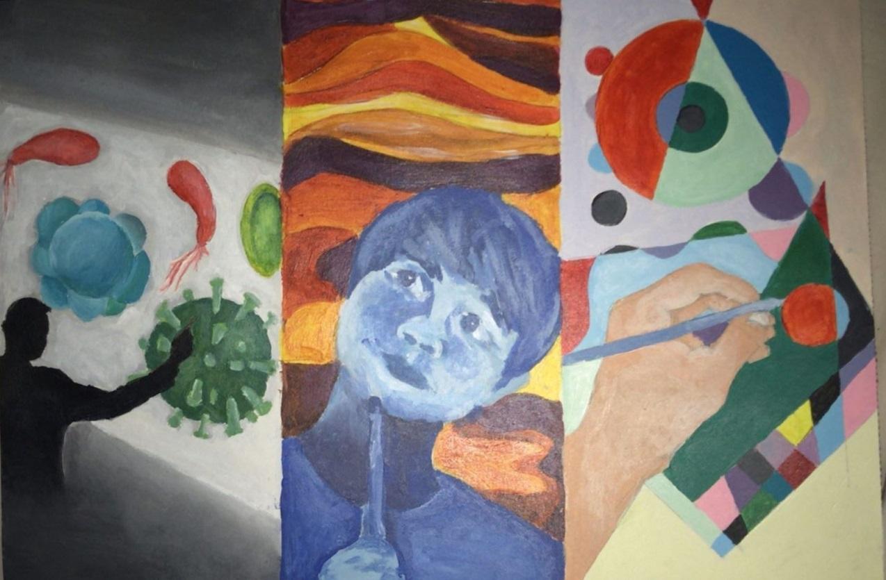 Οι μαθητές της Γ' Γυμνασίου εκφράζονται μέσω της τέχνης κατά τη περίοδο του εγκλεισμού-17