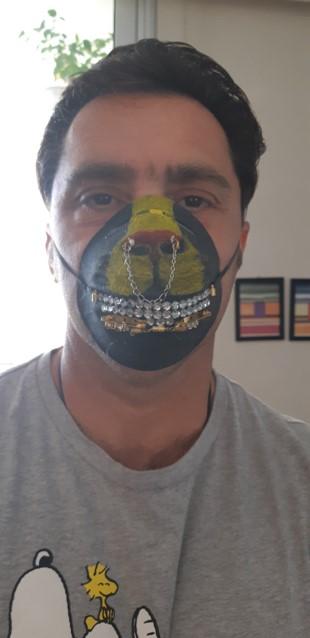 Projet de fabrication de masques en Arts plastiques : « Un masque qui te révèle autant qu'il te protège »-5