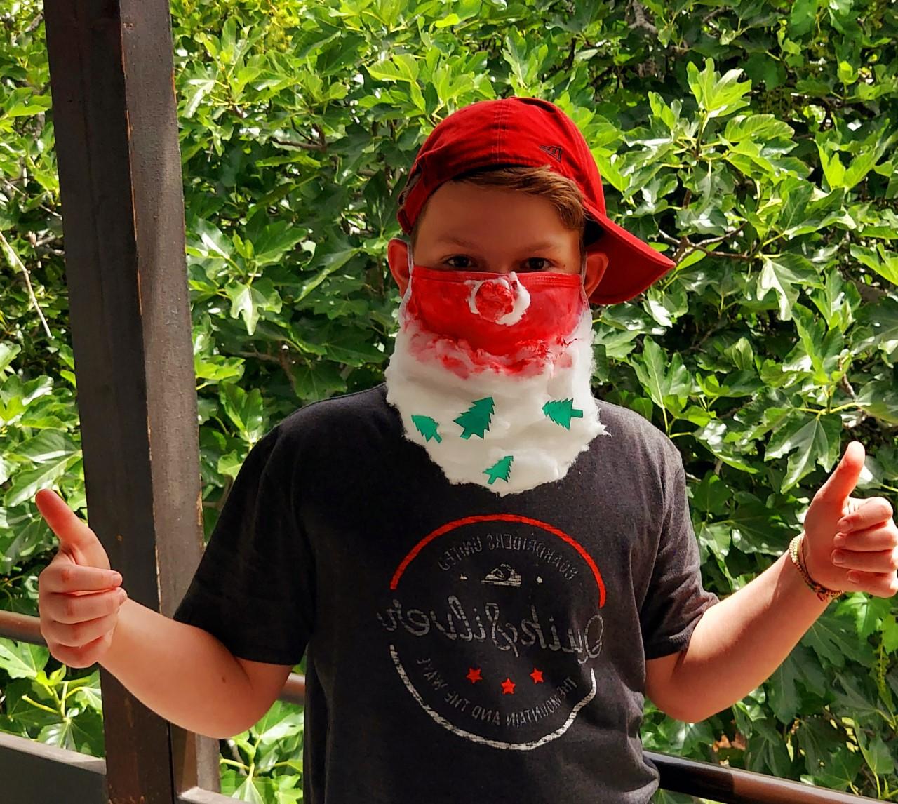 Projet de fabrication de masques en Arts plastiques : « Un masque qui te révèle autant qu'il te protège »-6