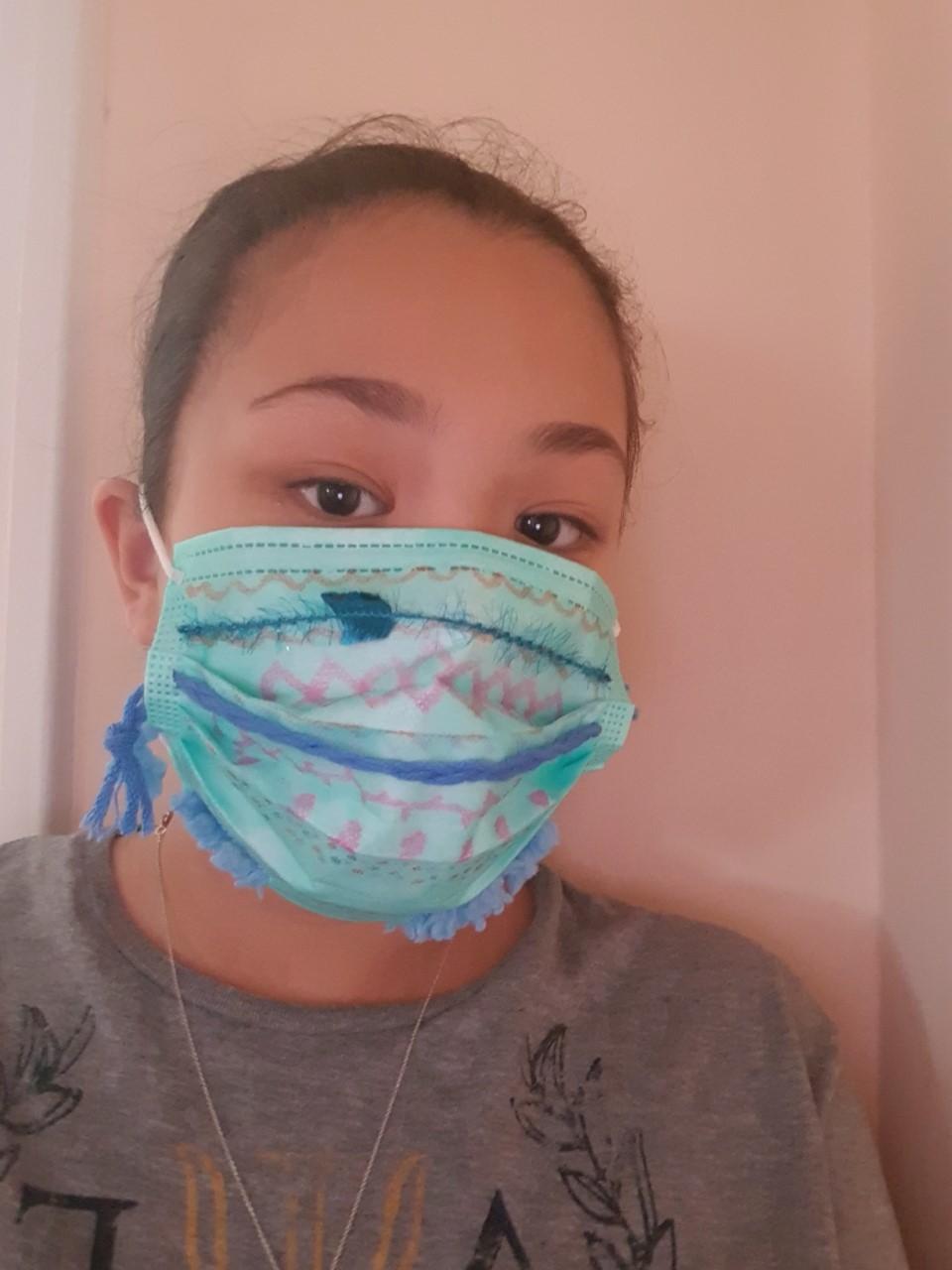 Projet de fabrication de masques en Arts plastiques : « Un masque qui te révèle autant qu'il te protège »-9