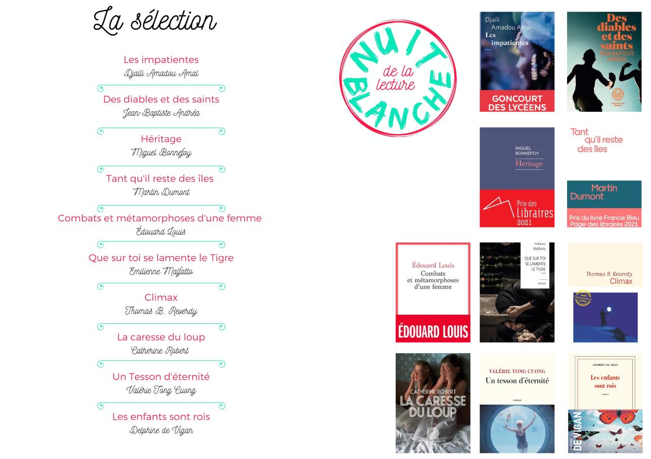 Une 4e édition de la Nuit Blanche de la lecture en prise avec l'actualité-2