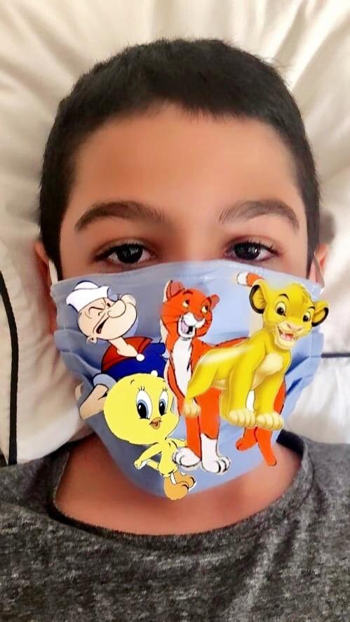 Projet de fabrication de masques en Arts plastiques : « Un masque qui te révèle autant qu'il te protège »-16