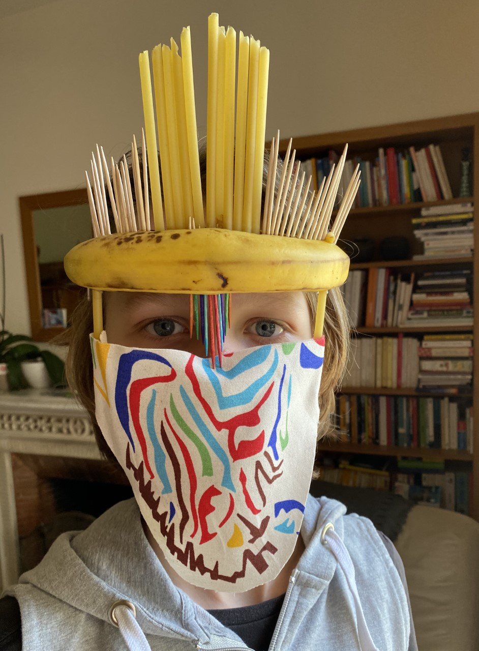 Projet de fabrication de masques en Arts plastiques : « Un masque qui te révèle autant qu'il te protège »-0
