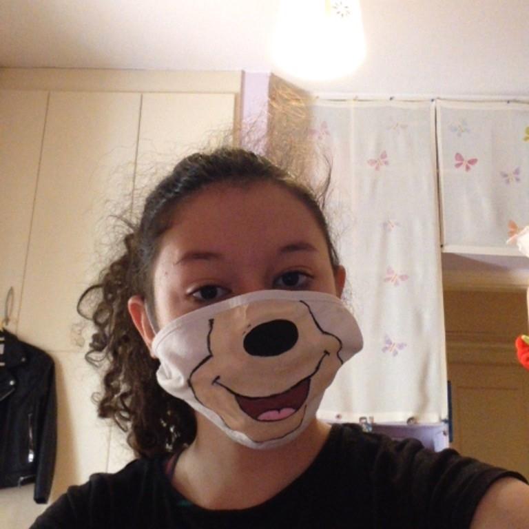 Projet de fabrication de masques en Arts plastiques : « Un masque qui te révèle autant qu'il te protège »-11