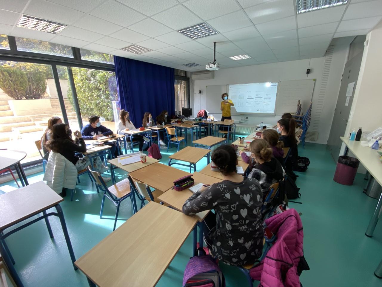 Nos élèves des deux Sections se préparent pour l'Euro Parlement Palma   -5