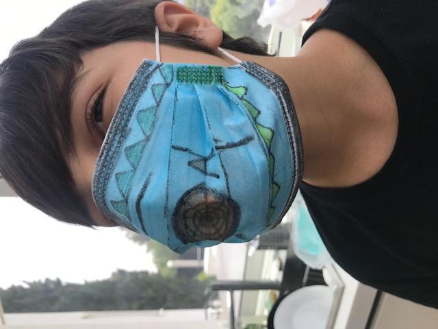 Projet de fabrication de masques en Arts plastiques : « Un masque qui te révèle autant qu'il te protège »-17