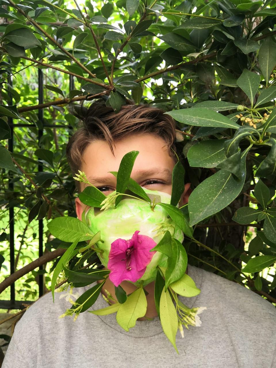 Projet de fabrication de masques en Arts plastiques : « Un masque qui te révèle autant qu'il te protège »-21