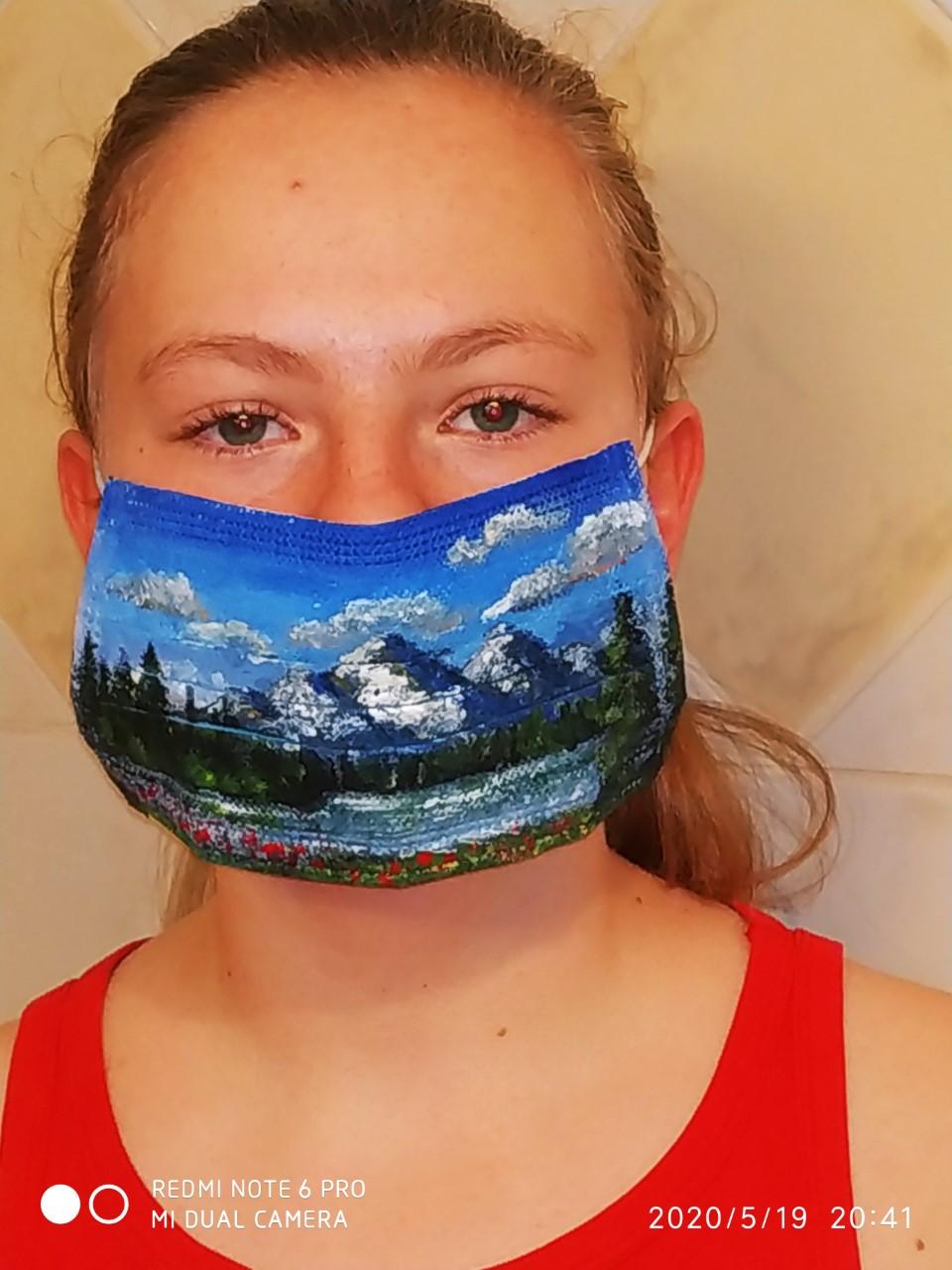 Projet de fabrication de masques en Arts plastiques : « Un masque qui te révèle autant qu'il te protège »-22