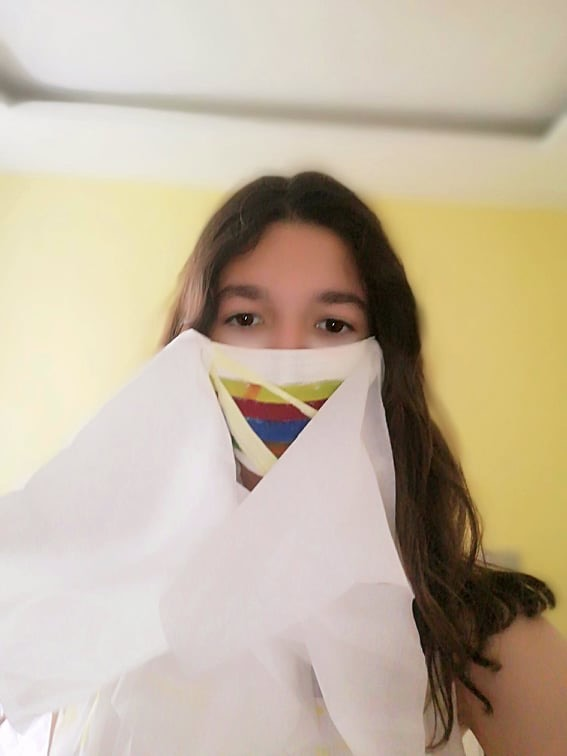 Projet de fabrication de masques en Arts plastiques : « Un masque qui te révèle autant qu'il te protège »-19