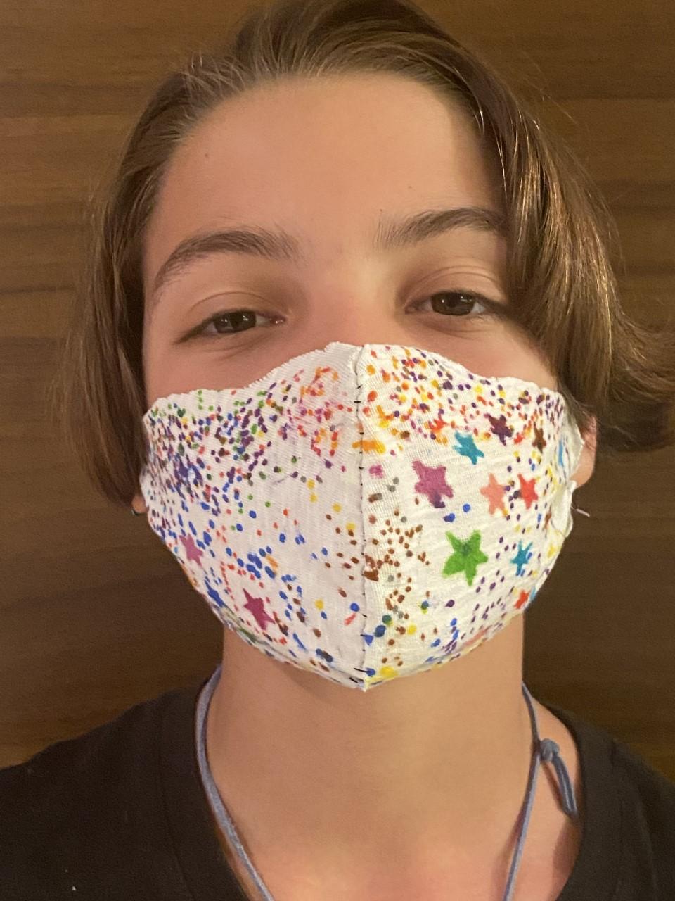 Projet de fabrication de masques en Arts plastiques : « Un masque qui te révèle autant qu'il te protège »-20