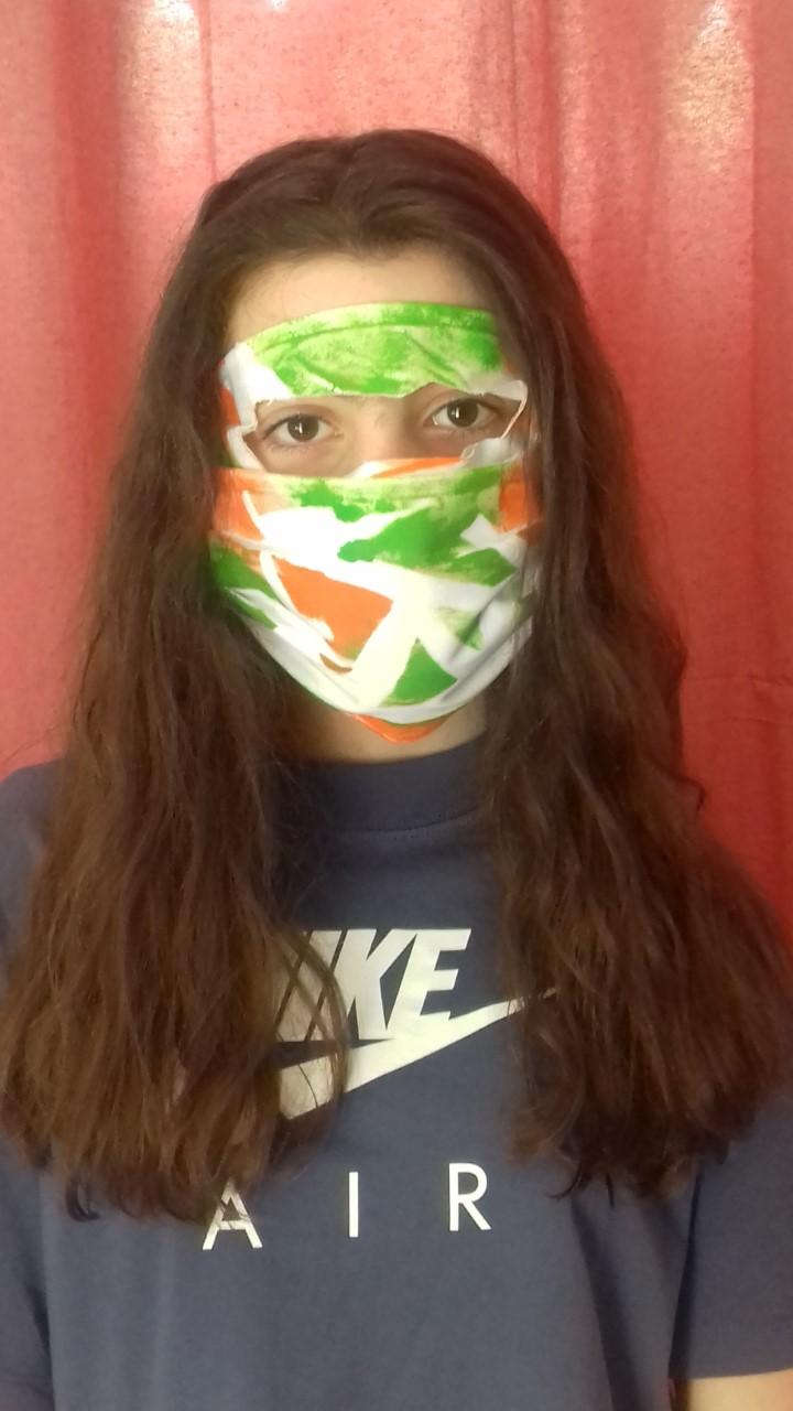 Projet de fabrication de masques en Arts plastiques : « Un masque qui te révèle autant qu'il te protège »-23