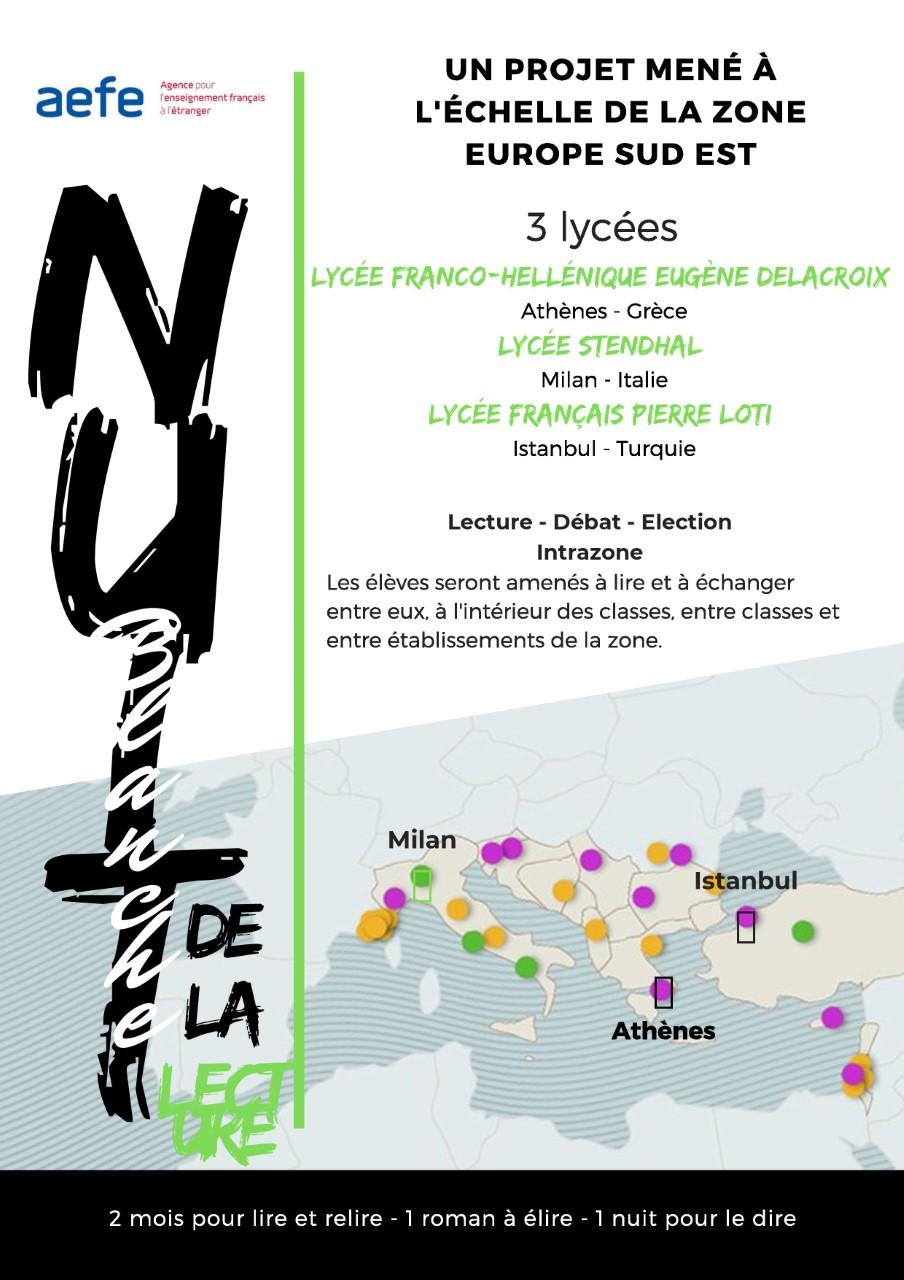 Le projet Nuit Blanche de la Lecture s'étend à la Zone Europe du Sud Est ! -0