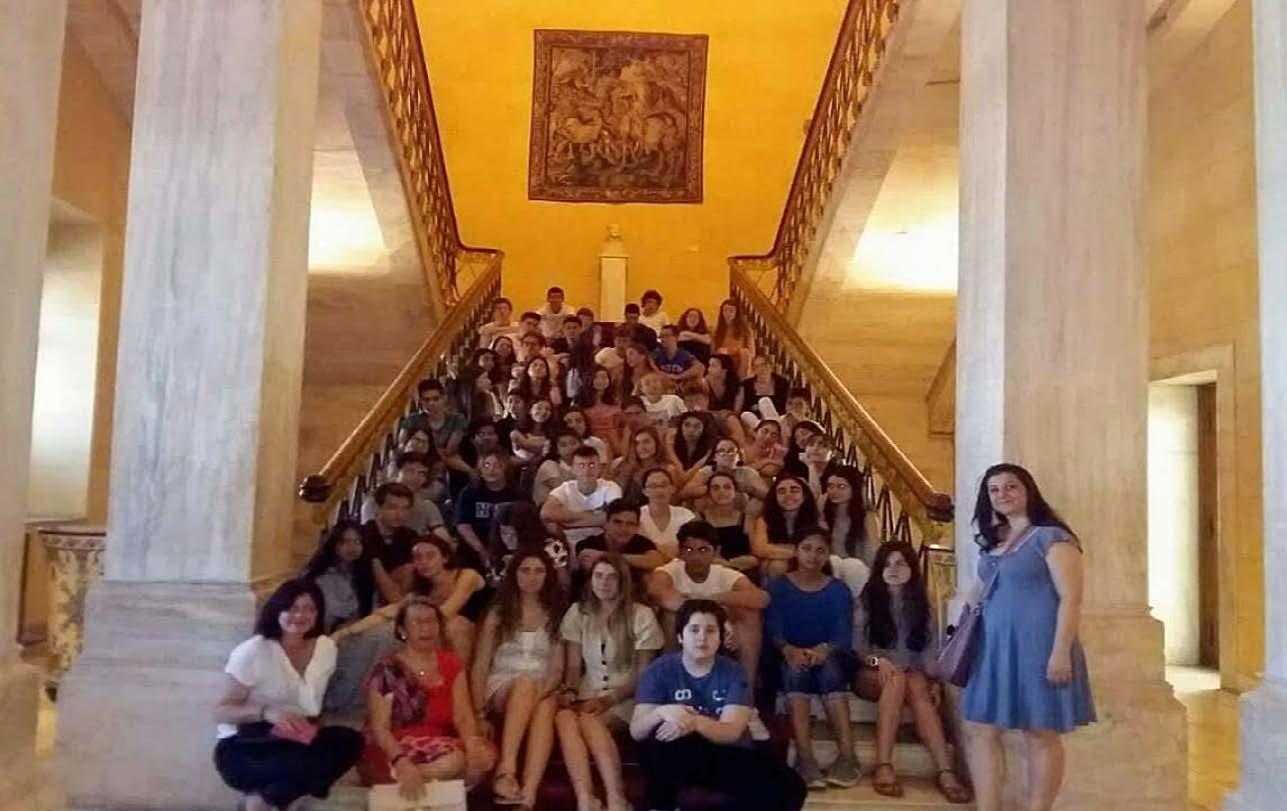 Οι μαθητές της 2nde επισκέπτονται τη Βουλή-2