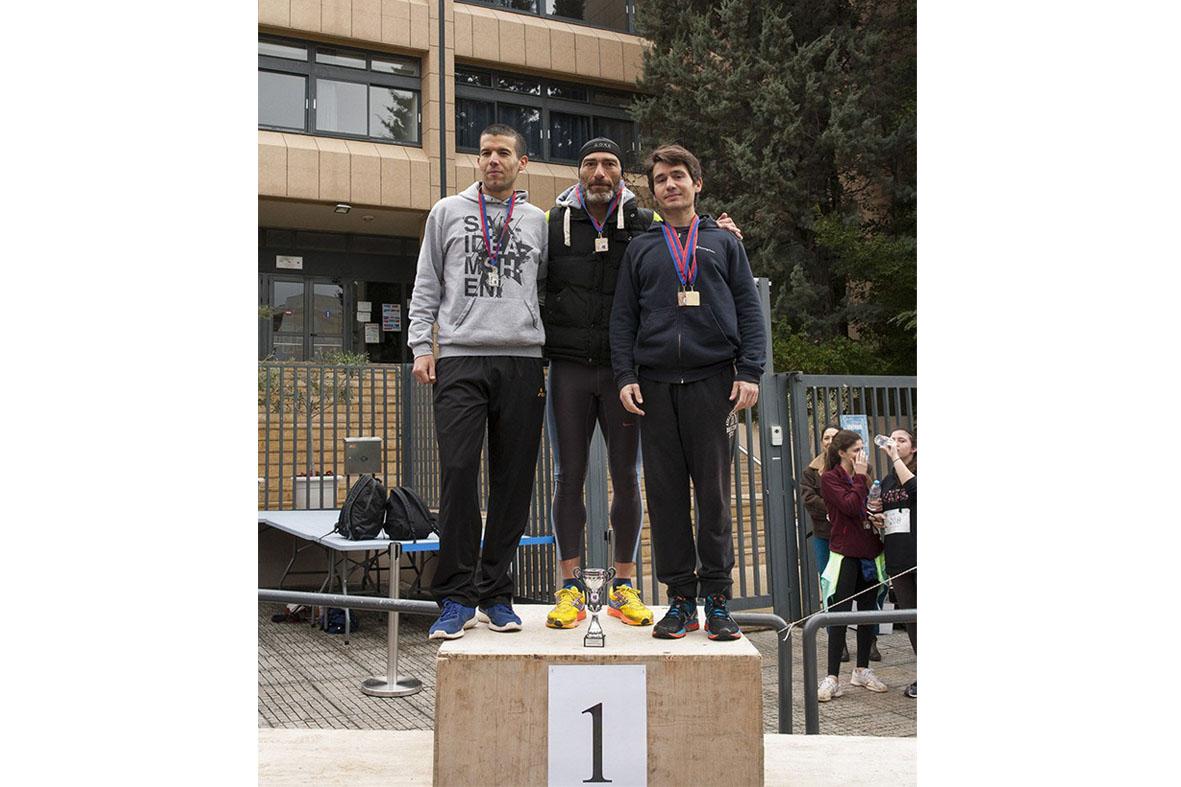Beau succès pour la grande course du lycée franco-hellénique qui s'est déroulée le 12 mars-6
