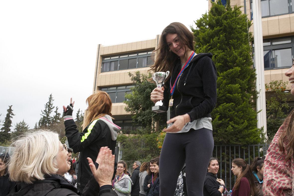 Beau succès pour la grande course du lycée franco-hellénique qui s'est déroulée le 12 mars-8