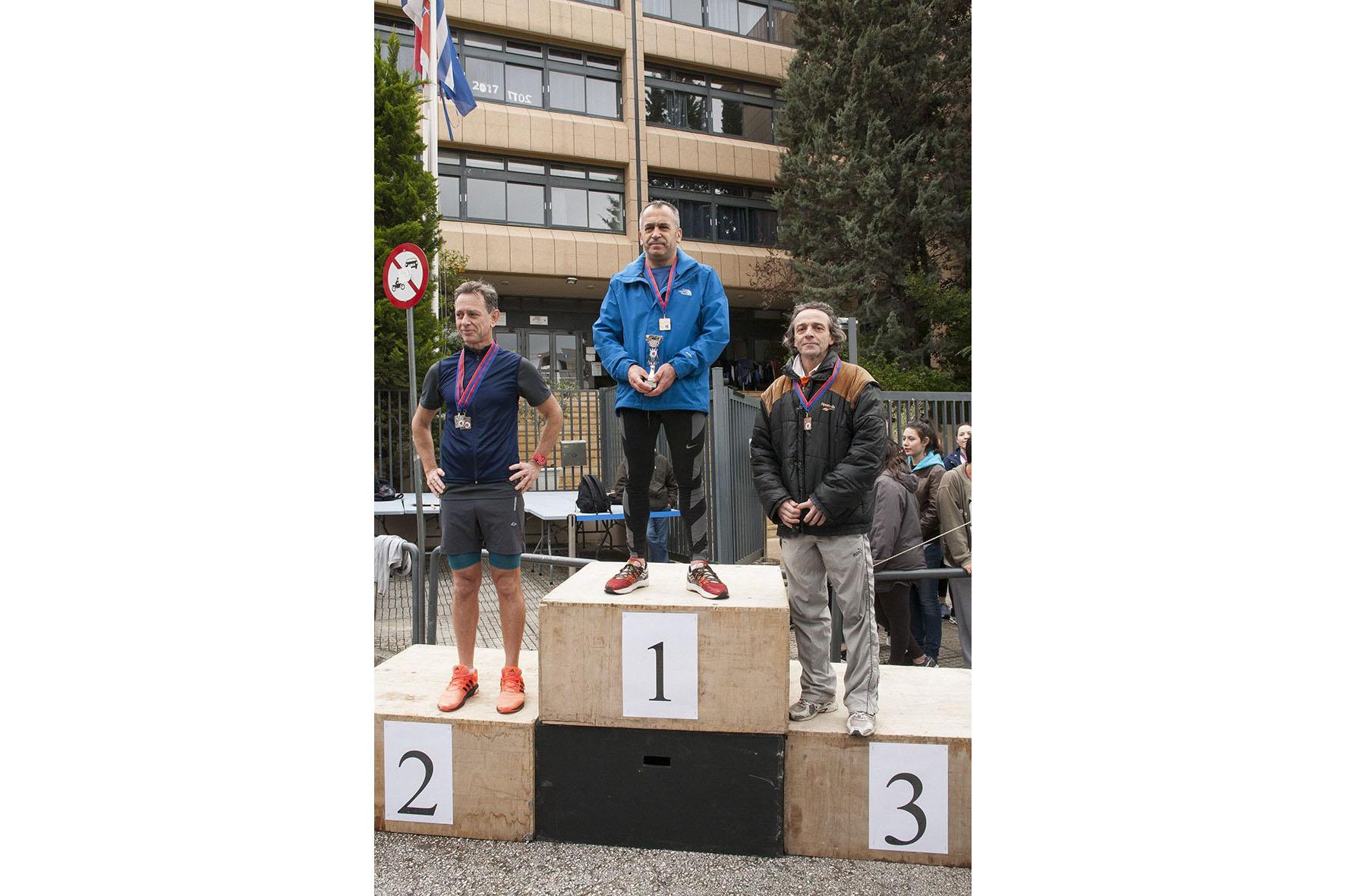 Beau succès pour la grande course du lycée franco-hellénique qui s'est déroulée le 12 mars-19