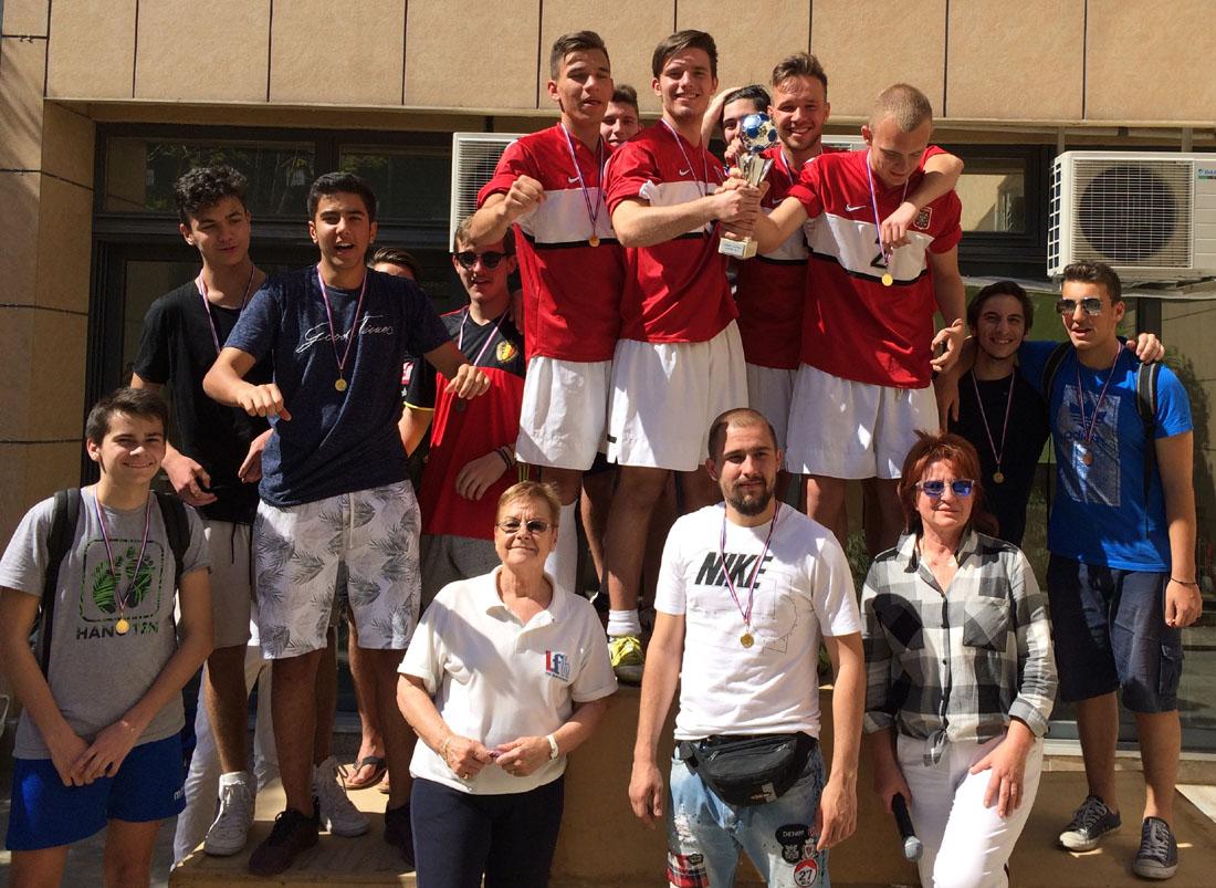 La journée de l'Europe fêtée avec un tournoi de foot-1