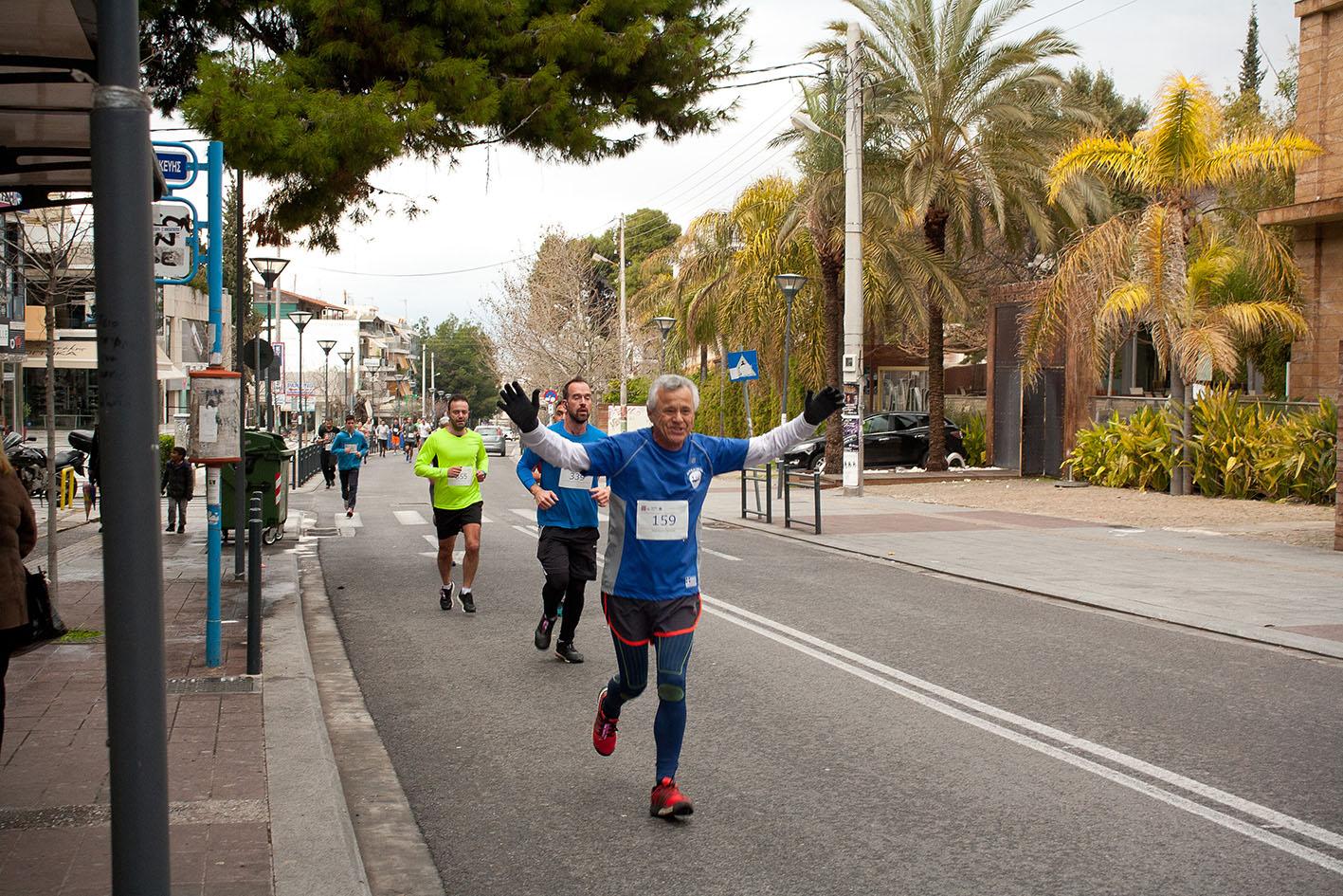 Beau succès pour la grande course du lycée franco-hellénique qui s'est déroulée le 12 mars-22