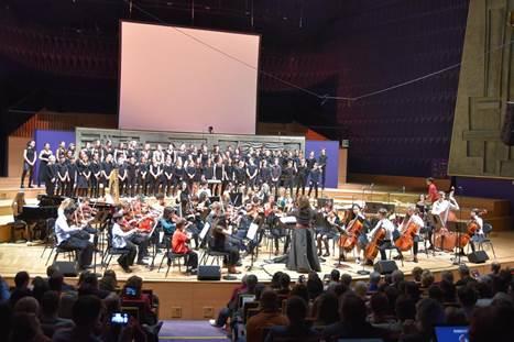 L'Orchestre des lycées français du monde (OLFM) en répétition et concert à Ho-Chi-Minh-Ville-1