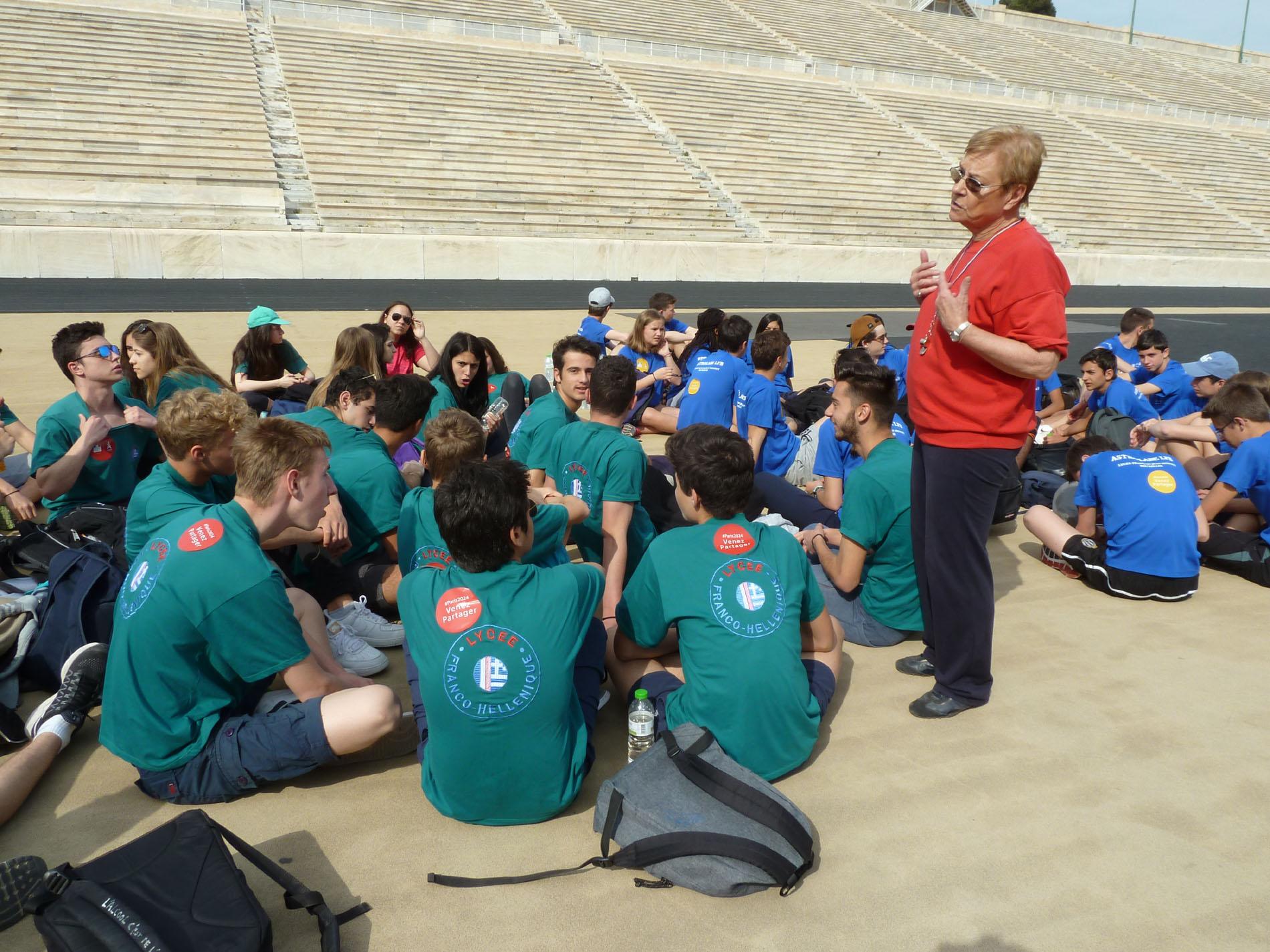 Rencontre sportive et culturelle entre le LFHED et le lycée Jean Monnet de Bruxelles-2