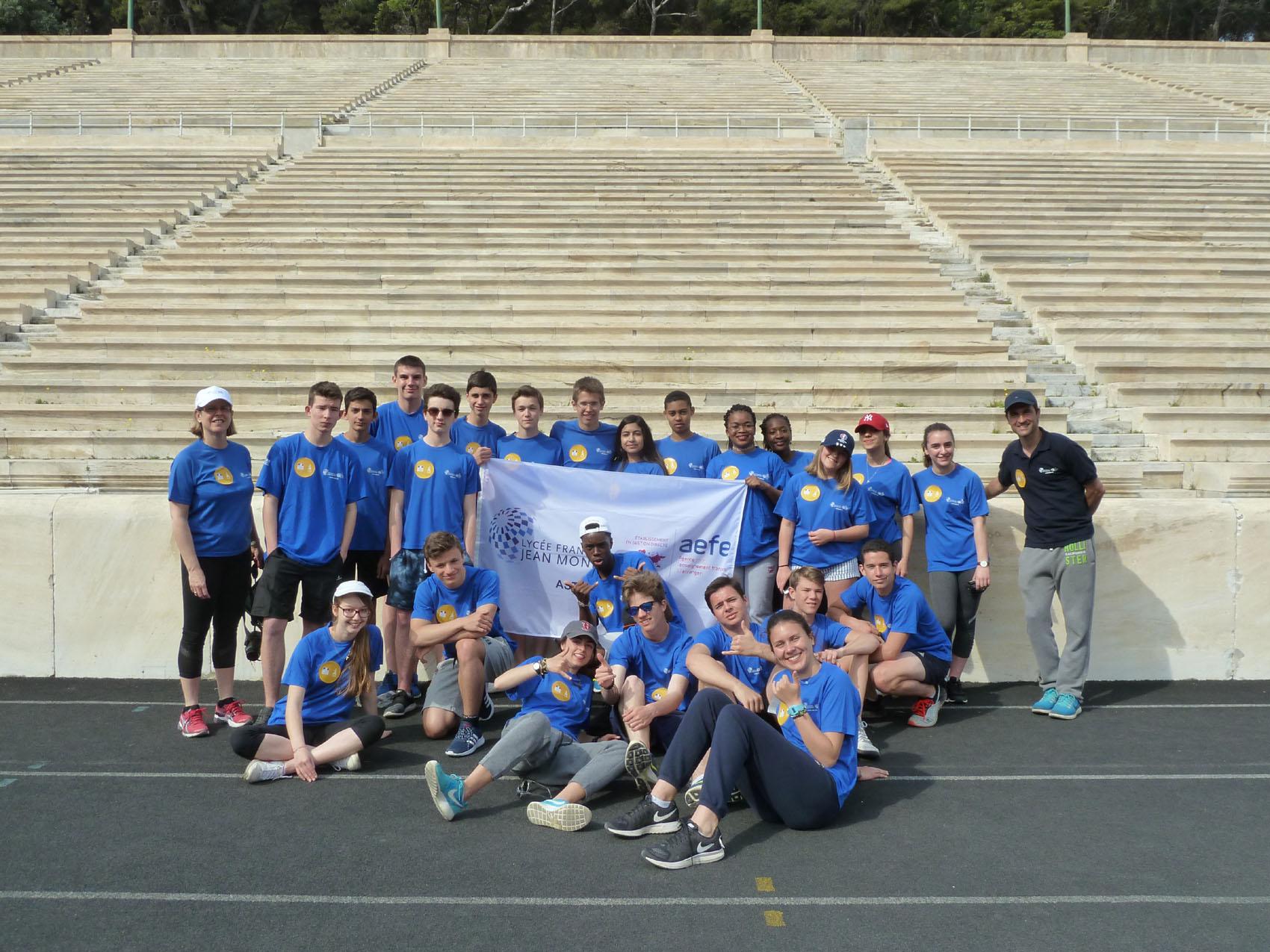 Rencontre sportive et culturelle entre le LFHED et le lycée Jean Monnet de Bruxelles-5
