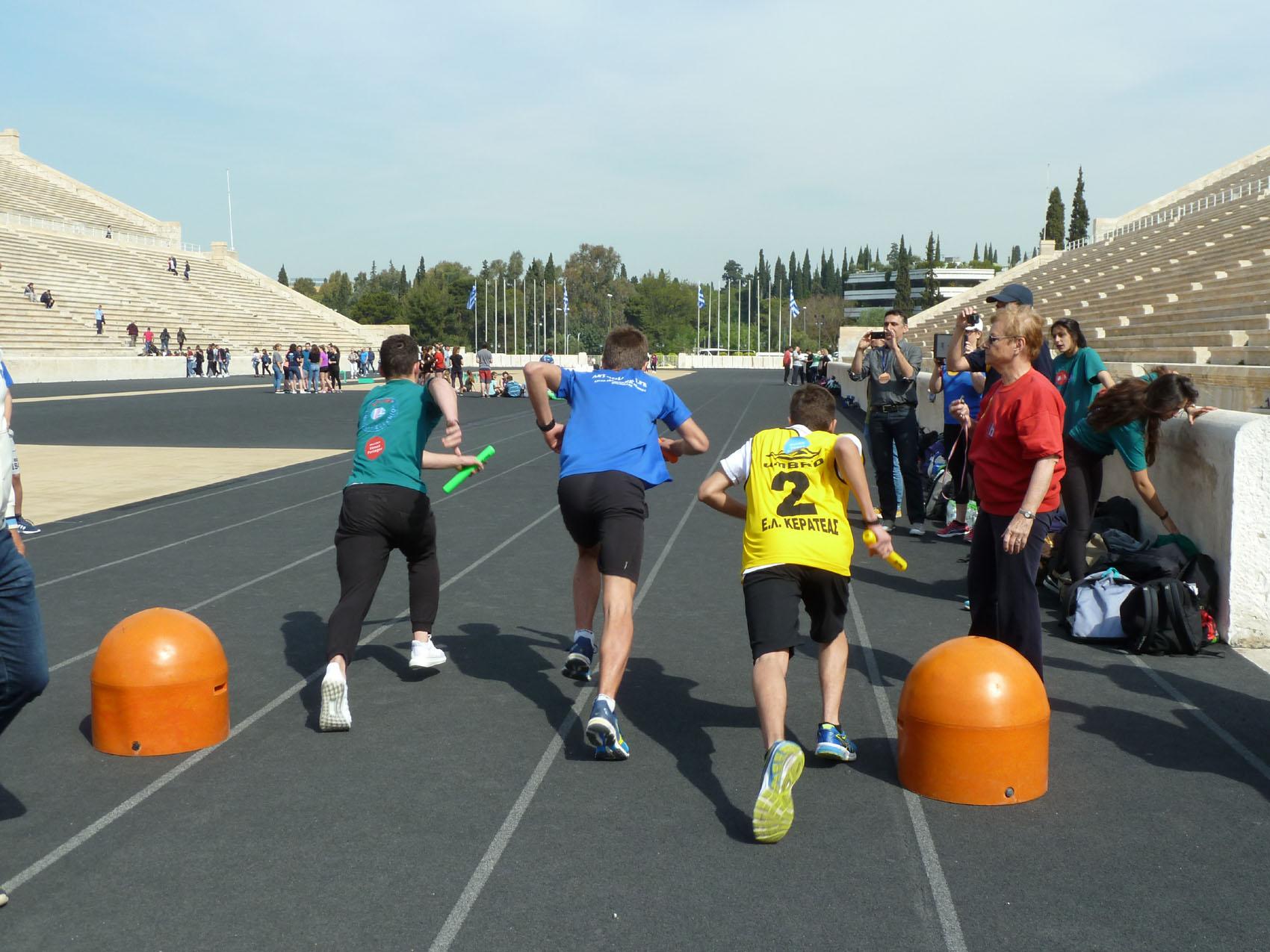 Rencontre sportive et culturelle entre le LFHED et le lycée Jean Monnet de Bruxelles-3