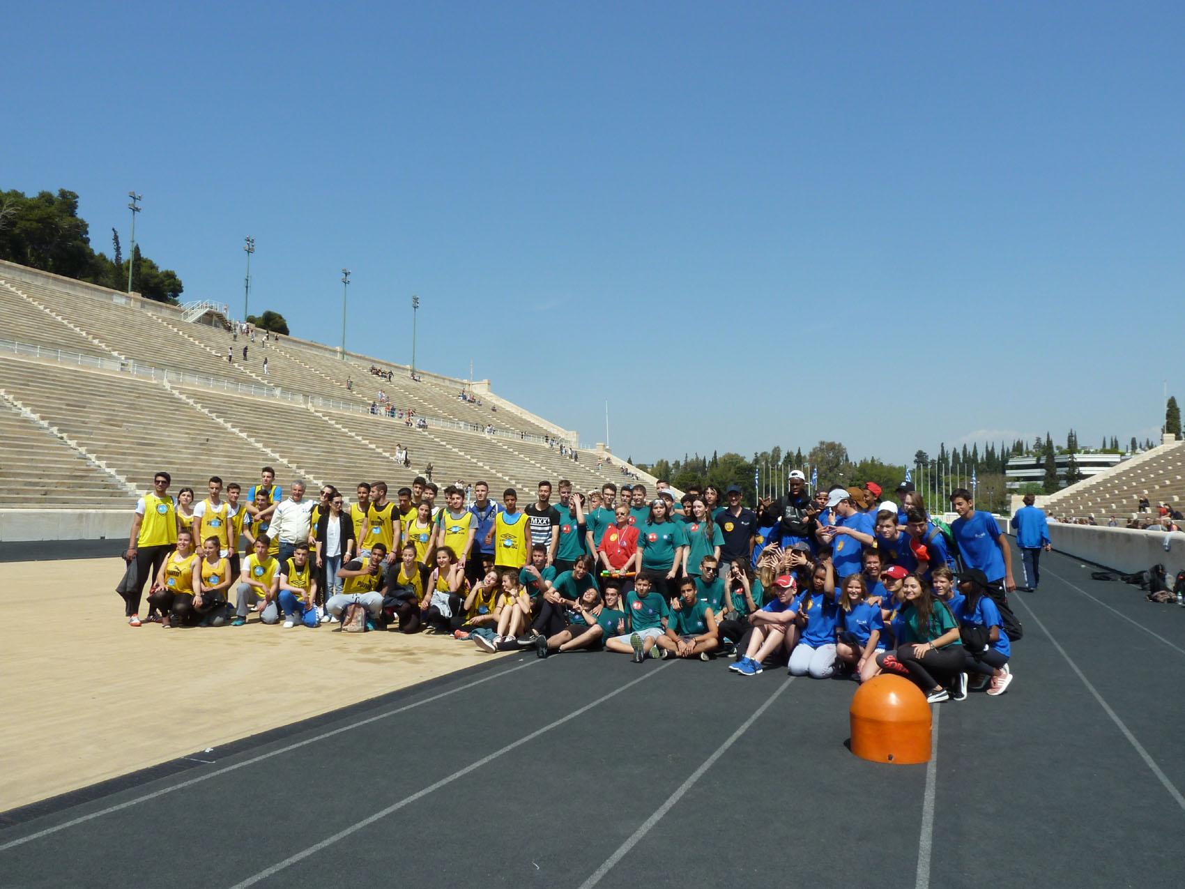 Rencontre sportive et culturelle entre le LFHED et le lycée Jean Monnet de Bruxelles-0