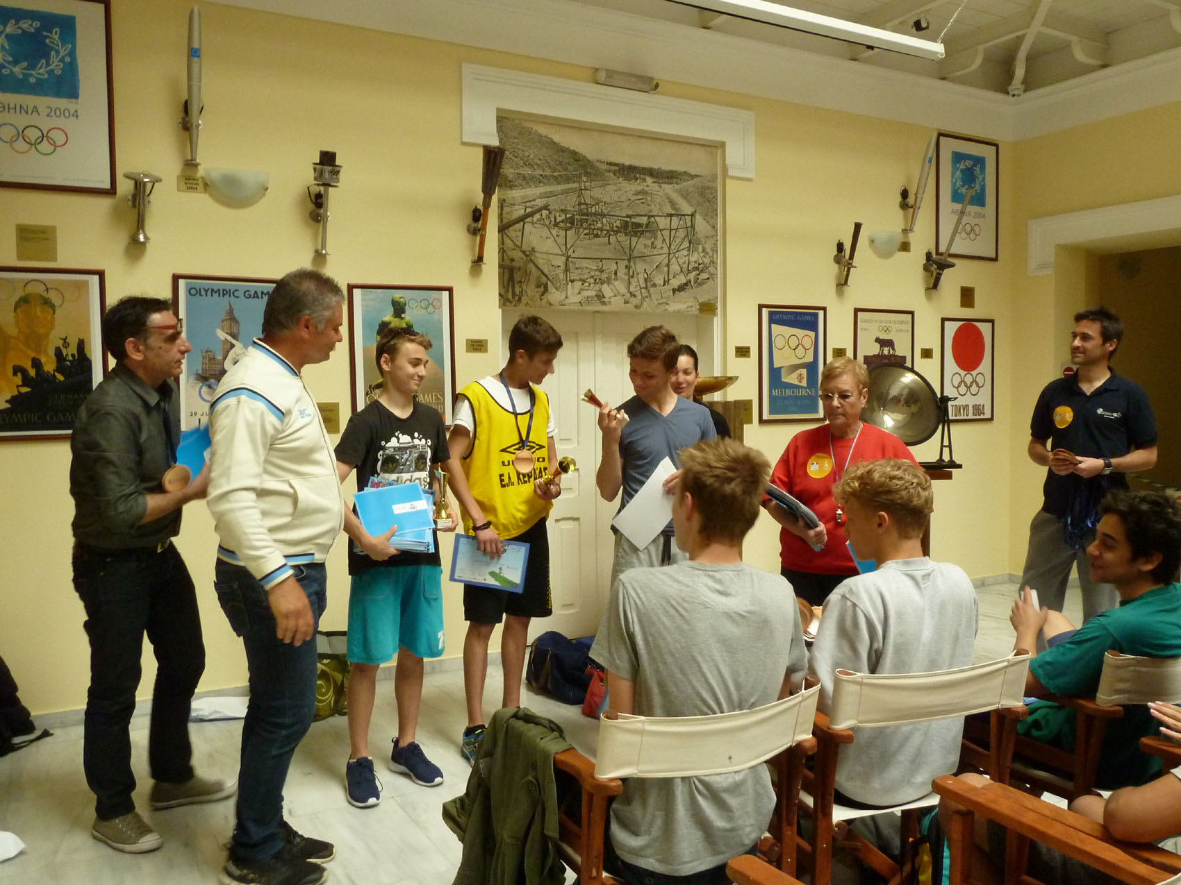 Rencontre sportive et culturelle entre le LFHED et le lycée Jean Monnet de Bruxelles-4