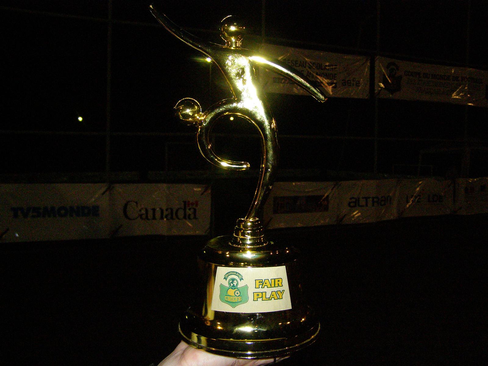 CMEFE 2014, la coupe du fair-play - το κύπελλο fairplay-2