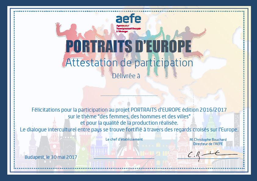 « Ma ville » : la chanson composée par les élèves de CE1 et CM2 dans le cadre du projet Portraits d'Europe
