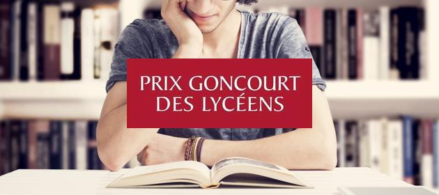 Évènement rentrée 2017… Le Prix Goncourt de Lycéens !