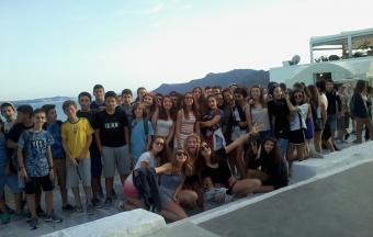 Voyage pédagogique à Santorin pour les 4e de la Section française-0