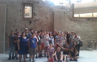 Voyage pédagogique à Santorin pour les 4e de la Section française-4
