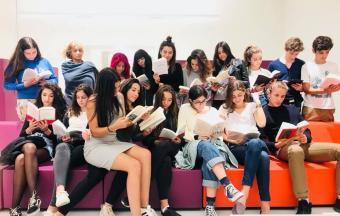La classe Goncourt accueillie à la Bibliothèque Nationale de Grèce, au centre culturel Fondation Stavros Niarchos-6