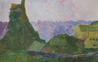 Les paysages vus par nos élèves de 6ème-70