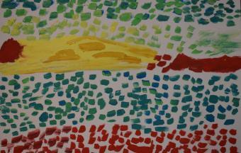 Les paysages vus par nos élèves de 6ème-68